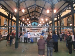 Jerez fish market