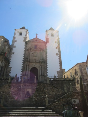 Church in Caceres