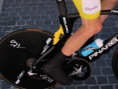 Froome's right foot